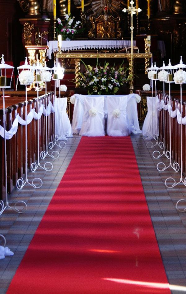 wypożyczalnia dywanów na ślub