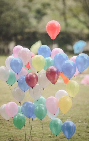 wynajem dmuchawa balonów