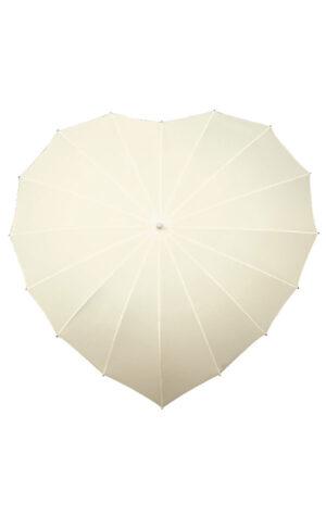 parasolki w kolorze ecru