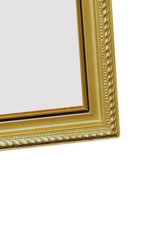 rama w kolorze złota