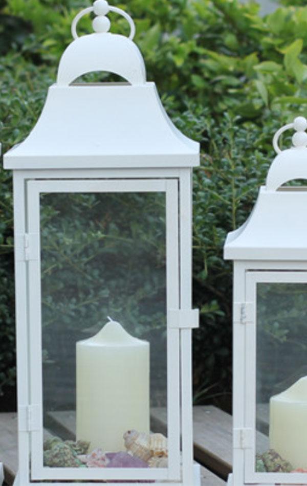 Lampiony Białe Duże