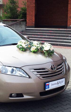 stroik na auto weselne