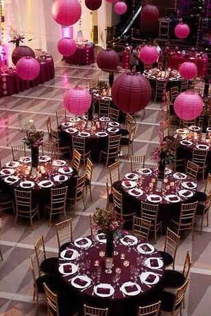 dekoracje na stoły
