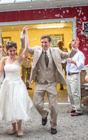 bańki na ślub