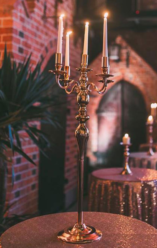wypożyczalnia świeczników i kandelabrów