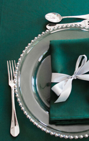 wypożyczalnia srebrnych podtalerzy