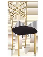 Nowe krzesła Chiavari w kolorze złotym