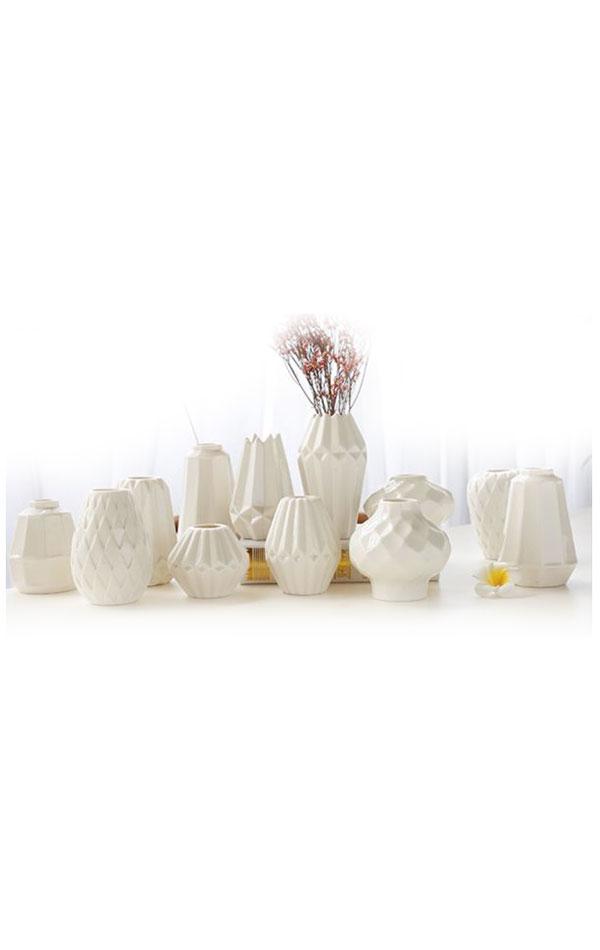 Wazony Ceramiczne Białe