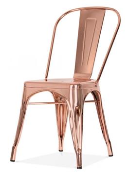 krzesła miedziane