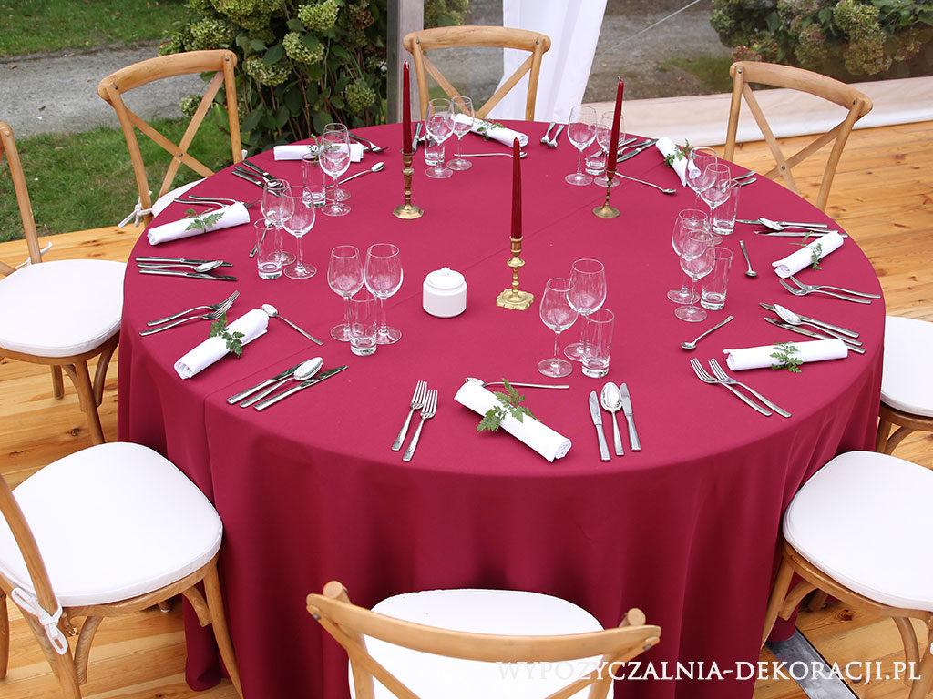 dekoracje stołu w stylu boho