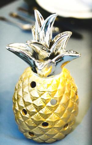 świeczniki ananasy