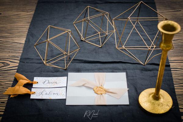 rustykalne dekory geometryczne