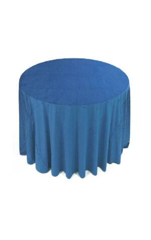 obrusy welurowe classic blue